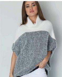 12da5fabc106d Asymmetric Sweater Vest Turtle Neck Chunky Long Top Knit Sleeveless ...