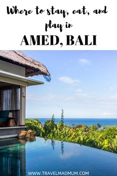 Beautiful beaches and lush green mountains, Amed, Bali should be added to your 2019 travel list! The perfect place for snorkeling shipwrecks and coral and for chilling on the beach with the family. Beautiful Landscapes, Beautiful Gardens, Bali With Kids, Gili Island, Jimbaran, Travel List, Travel Guides, Bali Travel, White Sand Beach