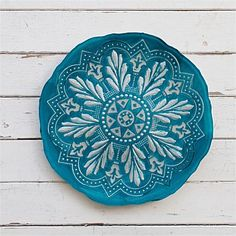 Serving Platters & Serving Dishes - Living & Giving - Somewhere in Morocco Platter Turquoise