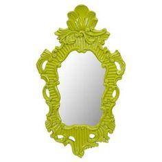 Finley Wall Mirror in Green