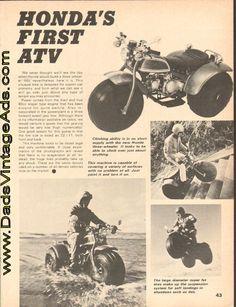 1970 - Honda's First ATV