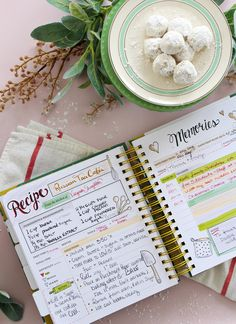 Scrapbook all your favorite recipes into the Keepsake Kitchen Diary - a family cookbook and memory keeper