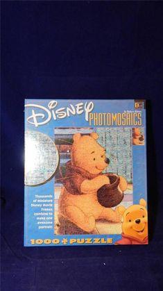 Disney Robert Silvers Photomosaics Winnie the Pooh 1000 Pc Jigsaw Puzzle SEALED #Disney