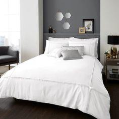 Signature Aura Oyster Duvet Quilt Cover Bedding Set – Linen and Bedding
