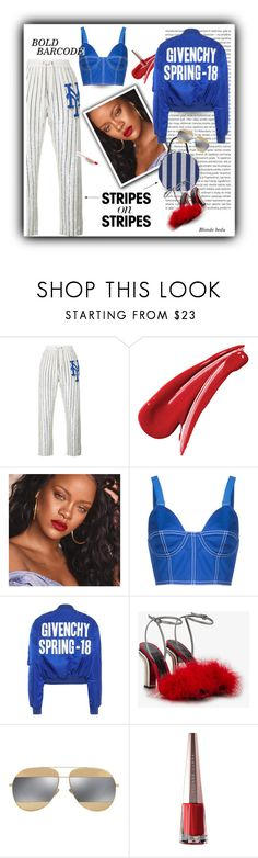 """""""I was not created to be subtle"""" by blonde-bedu ❤ liked on Polyvore featuring Ashish, Oris, Puma, Givenchy, Marco de Vincenzo, Christian Dior and modern"""