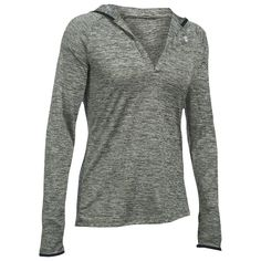 - Loose: Generous, more relaxed fit - Super-soft UA Tech fabric delivers incredible all-day comfort - Signature Moisture Transport System wicks sweat to keep you dry & light - Hood with open V-neck. R