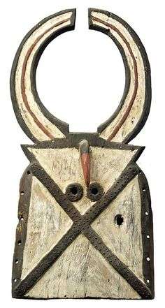 Another great African mask. Toussian Mask 1, Burkina Faso