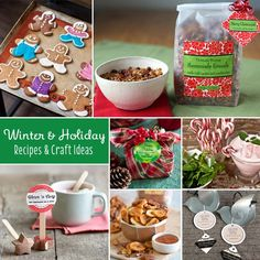 Our Most Popular Winter Holiday Recipes & Crafts #christmas #diy #homemade #gifts