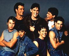 "Popped Collar: Cast of ""The Outsiders"""