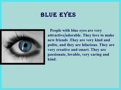 What Does Your Eye Color Say About You