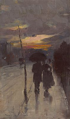 """Tom Roberts: Going Home """"Painting is simple. Just put the right paint in the right place. Art And Illustration, Illustrations, Art Amour, Fine Art, Going Home, Art Design, Art Inspo, Painting & Drawing, Amazing Art"""