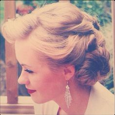 I wish I could do this #vintagehair