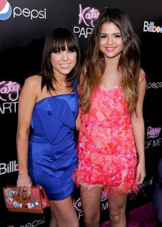 """Selena Gomez and Carly Rae Jepsen at """"Katy Perry: Part Of Me"""" - Red Carpet"""