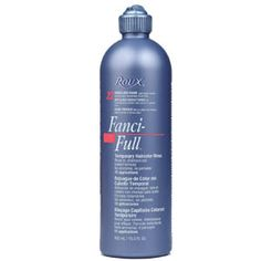 roux-fanci-full-rinse-- this is grandma stuff, haha, but if you want platinum or silver hair it reallllly works. After washing/conditioning your hair, squeeze out water, apply and dry hair. Do not rinse out. Always keep an emergency stash for brassy hair emergencies!
