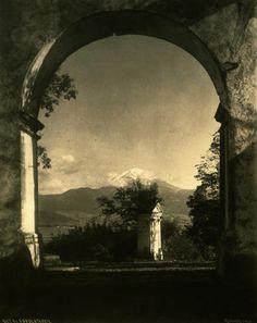 Hugo Brehme(1882-1954), Popocatépetl  Lo que fuimos