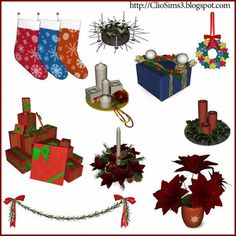 Christmas decor 2013 by Clio - Sims 3 Downloads CC Caboodle