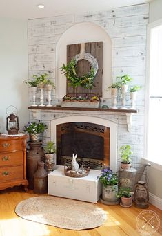 Exceptional modern french country decor are readily available on our website. Have a look and you will not be sorry you did. Farmhouse Remodel, Farmhouse Style Kitchen, Country Farmhouse Decor, Modern Farmhouse Kitchens, Country Living, French Country Rug, French Country Decorating, Farmhouse Fireplace, Fireplace Mantels