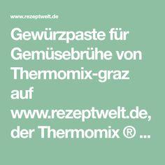 Gewürzpaste für Gemüsebrühe von Thermomix-graz auf www.rezeptwelt.de, der Thermomix ® Community