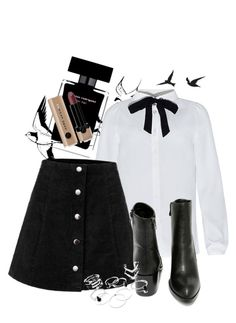 """Elegant inspiration"" by ppolinkaaa on Polyvore featuring moda, Very Volatile, Narciso Rodriguez, Marc Jacobs, women's clothing, women, female, woman, misses i juniors"