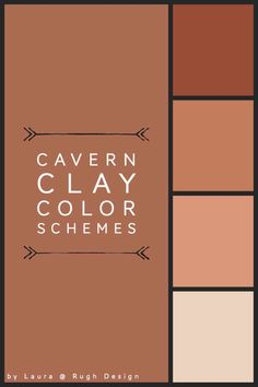 Cavern Clay Color Schemes Color schemes for Cavern Clay SW Need help picking a matching color Terra Cotta Paint Color, Rust Color Paint, Wall Paint Colors, Paint Colors For Home, House Colors, Room Colors, Colours, Behr, Rust Color Schemes