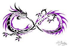 Infinity Dragon 3 By Bloodbass On Deviantart Design 800x533 Pixel