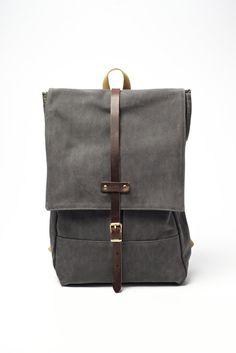 Rucksack Waxed Canvas Backpack