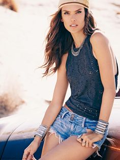 2f528c56f598 Alessandra Ambrosio debuts her first clothing line