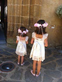LAS NIÑAS DE LA BODA DE AMALIA Y STEFANO Wedding With Kids, Little Princess, Kids Wear, Girly Girl, Diy Clothes, Pretty Dresses, Kids Outfits, Dream Wedding, Flower Girl Dresses