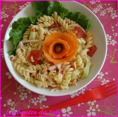 Salade de pâtes surimi concombre 6pp