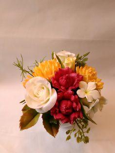 Cold Porcelain by Natasha Waldron Cold Porcelain, Floral Wreath, Wreaths, Candles, Home Decor, Floral Arrangements, Floral Crown, Decoration Home, Door Wreaths