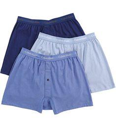 9e59973d1e Calvin Klein Cotton Classic Knit Boxer - 3 Pack NU3040 - Calvin Klein Boxers