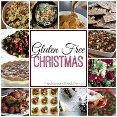 A Gluten Free Christmas round-up from The Chaos and the Clutter (and thanks for including my recipe!)