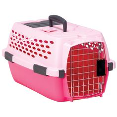 Petmate Kennel Cab - Pink - 19 in. - up to 10 lbs.