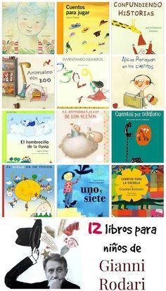 12 libros para niños de Gianni Rodari