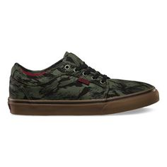 camo low cut chukka vans