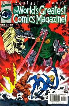Fantastic Four: The World's Greatest Comic Magazine (vol 1) # 12