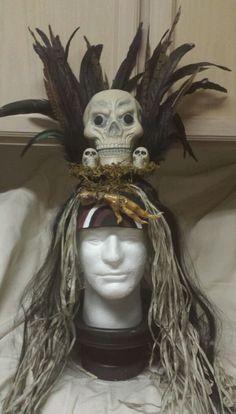 Bone Maracas Glow In the Dark Skeleton Leg Voodoo Witch Halloween CaveMan Prop