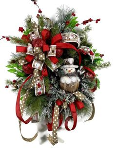 Large Holiday Front Door Wreath Snowman Wreath For Front Door Christmas Wreaths For Sale Outdoor Wreaths