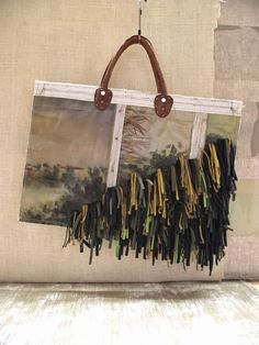 bags: Painting/Fringe