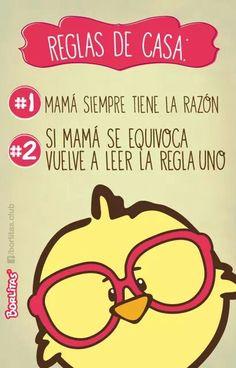 mamá siempre tiene la razón