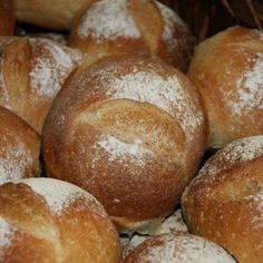 Easy Crusty Bread Rolls
