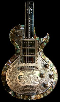 Teye La India abalone. Beautiful guitar!