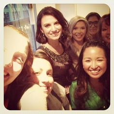 via @jenna1980 | How many wedding planners can you fit in one bathroom at the #opusrevamped?