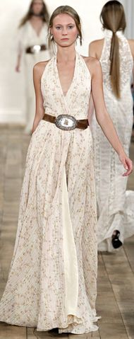 New York Fashion Week: Ralph Lauren Spring 2011