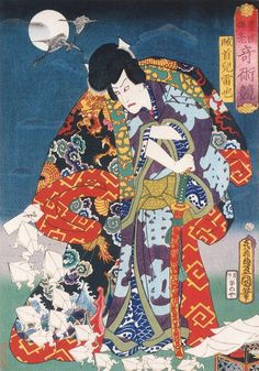 Utagawa Kunisada - Kabuki