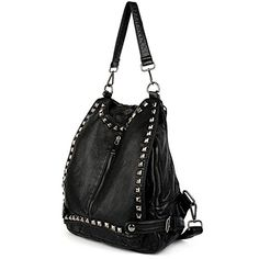 UTO Women Backpack Purse PU Washed Leather Rivet Studded ... https://www.amazon.com/dp/B01H1TYBRU/ref=cm_sw_r_pi_dp_x_jfIczbC3SB4P9