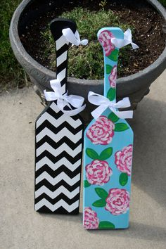 Custom Hand Painted Sorority Paddles by KraftsbyKristie on Etsy