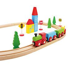 Buy John Lewis 24-Piece Train Set Online at johnlewis.com