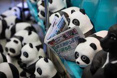 In Asia, 1,600 Papier-Mâché Pandas Bring Pandemonium. Sculptures Cause a Stir on Tour, Pushing French Artist Paulo Grangeon Into Spotlight | By Lara Day  - WSJ