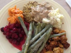 Our Thanksgiving | Happy Herbivore - Recipes found in her Everyday Happy Herbivore book. I really enjoy the recipes in that book